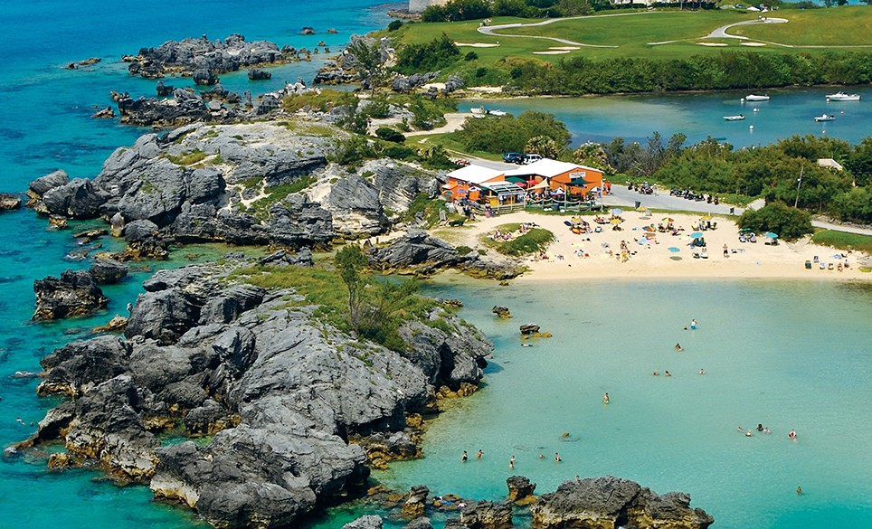 tobacco bay beach a slice of paradise in st george s go to bermuda