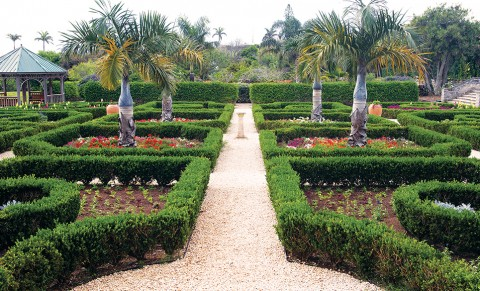 Camden House Botanical Gardens in Bermuda