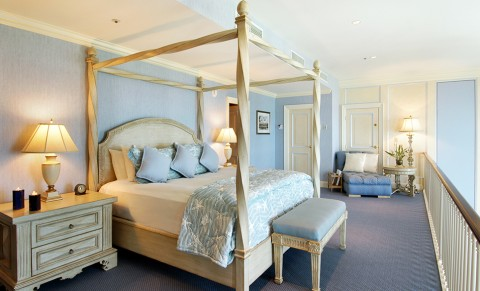 Guest accommodations at the Fairmont Southampton, Bermuda