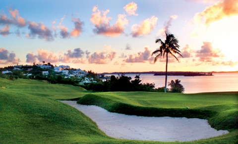 Newstead Belfont Golf Course Bermuda sunset