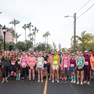 ZOOMA Road Race participants
