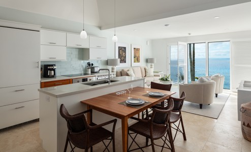 Living & Dining Room - Living & Dining Room Configuration for a one or two bedroom unit